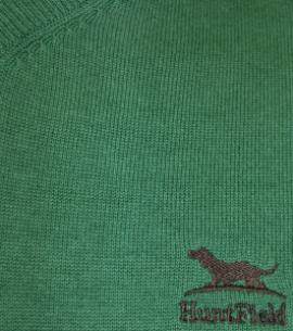 Huntfield | JERSEY PICO CABALLERO ALGODÓN (Verde, M)