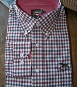 Huntfield | Camisa caballero Cuadro     +COLORES (Rojo, L)