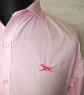 Huntfield | CAMISA OXFORD CUELLO ITALIANO (Rosa, XL)