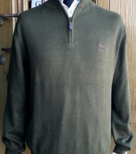 jersey algodon huntfield verde caza