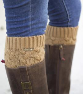 calentadores calcetines huntfield camel caza señora