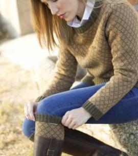 calentadores calcetines huntfield caza señora