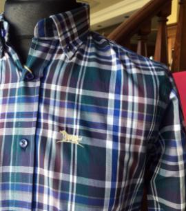 camisa cuadro huntfield caza