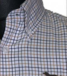 "Huntfield | Camisa Caballero  ""Raya""         +COLORES (Beige, L)"