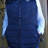 chaleco mujer azul huntfield