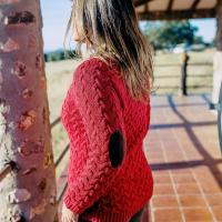 Huntfield | JERSEY CON CODERA (Rojo, L/XL)